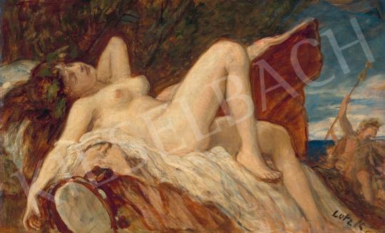 Eladó  Lotz Károly - Bacchansnő festménye