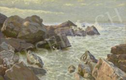 Poll Hugó - Tengerpart, 1913