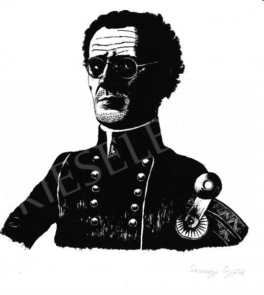 Eladó  Somogyi Győző - Önarckép festménye