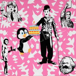 drMáriás - Laci Penguin saves Sunday lunch at Banksy's studio