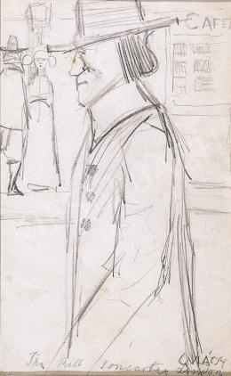 Gulácsy Lajos - Kalapos Úr