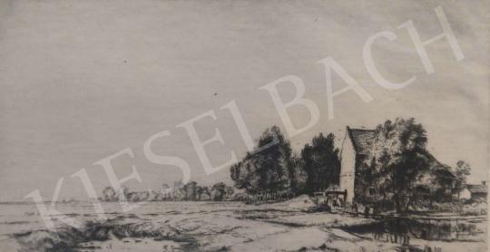 Eladó  Boldizsár István - Malom festménye