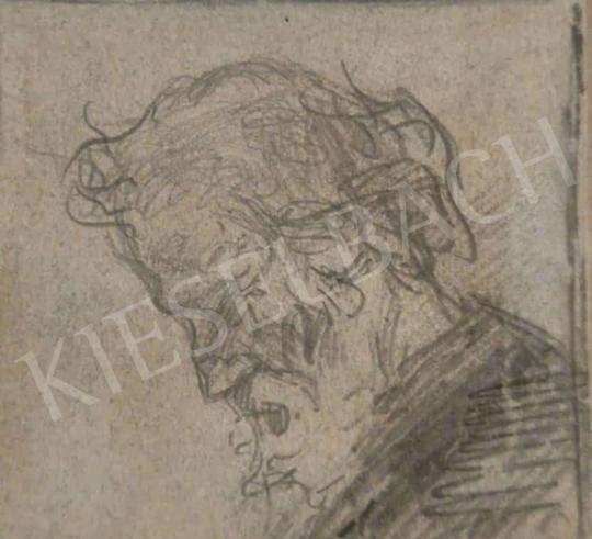 Eladó  Mednyánszky László - Férfi portré festménye