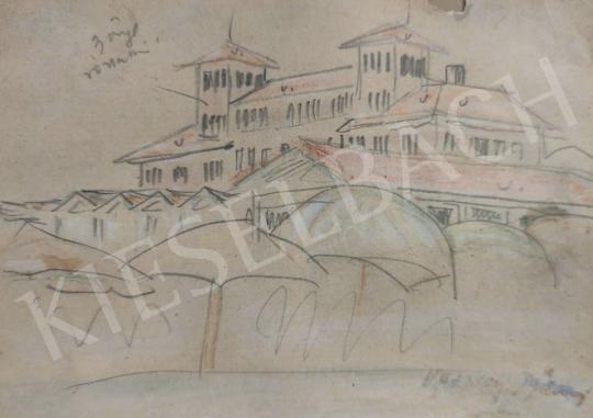 Eladó  Vaszary János - Tengerparti villa  festménye