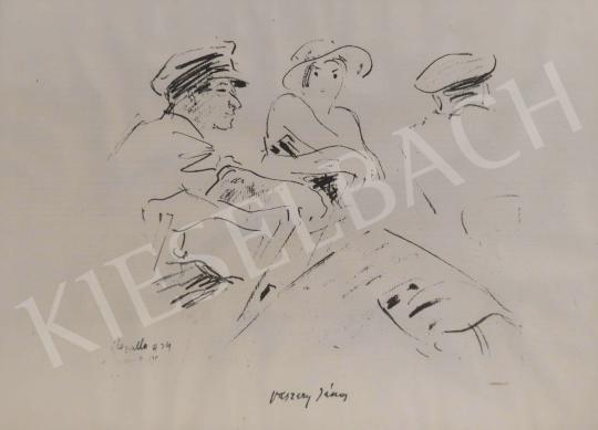 Eladó  Vaszary János - Találkozás festménye