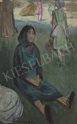 Czene Béla - Pihenő nénike