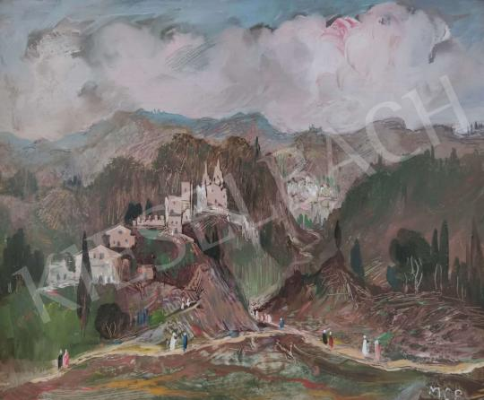 Eladó  Molnár C. Pál - Itáliai táj festménye