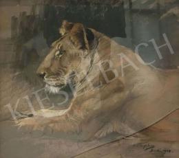 Vastagh, Géza - Lion, 1908