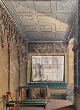 Ismeretlen festő - Kastélykápolna,1850