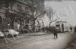 Ismeretlen magyar művész - Jászai Mari tér, a 15-ös villamos végállomása