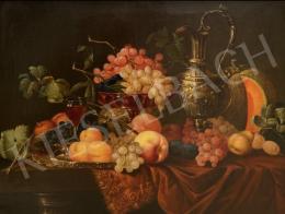 Friedlinger Jenő - Csendélet gyümölcsökkel