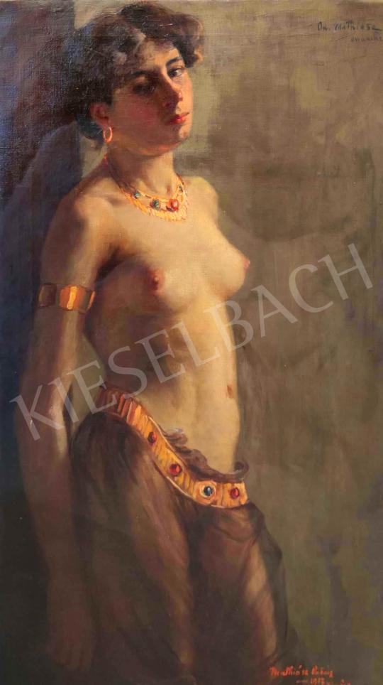 Eladó Mathiász Oszkár - Keleti táncos, 1907 festménye