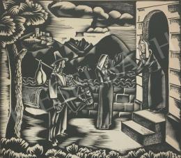 Molnár C. Pál - Erzsébet és Mária találkozása