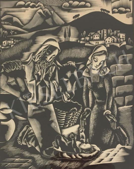 Eladó  Molnár C. Pál - Szent Család festménye