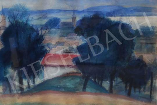 Eladó  Tipary Dezső - Dunakanyar  festménye