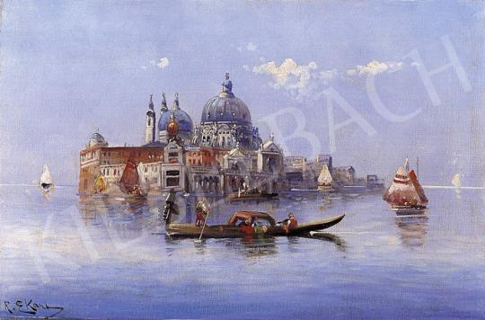 Ismeretlen festő, 1900 körül - Velence | 5. Aukció aukció / 7a tétel