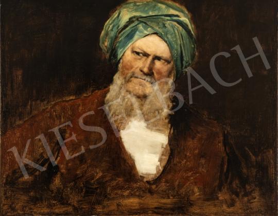 Munkácsy Mihály - Alaktanulmány a Krisztus Pilátus előtt kompozícióhoz, 1880 festménye