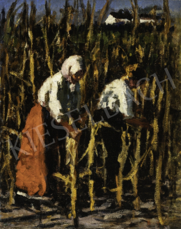 Koszta József - Kukoricatörés, 1910-es évek második fele