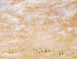 Rippl-Rónai József - Lilás ég a Balatonon