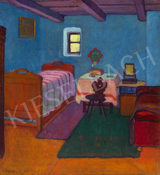 Pechán József - Nagybányai szoba, 1908 festménye