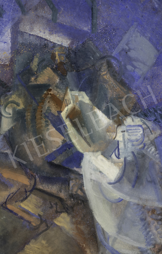 Szobotka Imre - Kompozíció, 1910-es évek közepe festménye