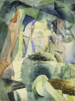 Szobotka Imre - Tájkép, 1910-es évek közepe