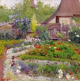 Dienes János - Virágoskertem Nagybányán