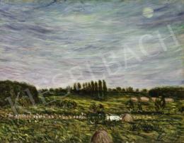 Egry József - Kék ég alatt (Hommage á Vincent van Gogh), 1910-es évek első fele