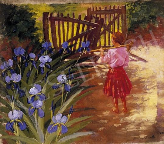 Korányi Sarolta - A kis kertész | 5. Aukció aukció / 11a tétel