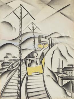 Szücsy Lili - A sárga villamos, 1929
