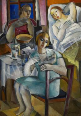 Schönberger Armand - Család (Látogatás), 1933