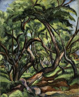 Perlrott Csaba Vilmos - Nagybányai fák, 1924