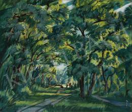 Boromisza, Tibor - Sunlit Forest in Debrecen, 1927