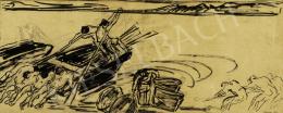 Vaszary János - Balatoni halászok, 1926 körül