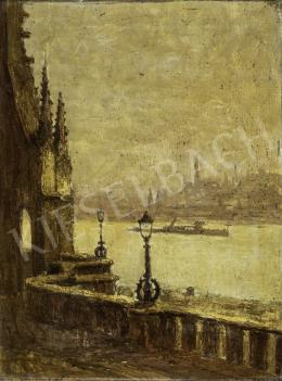 Guzsik, Ödön - Budapest View from the Fisherman's Bastion, 1930s
