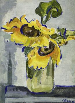 Móricz Margit - Napraforgó vázában, 1930-as évek
