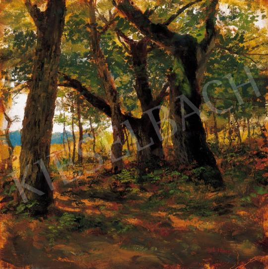 Deák Ébner, Lajos - Sunlit Grove | 22. Auction auction / 3 Item