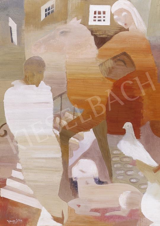 Gyenes Gitta - Találkozás a hídnál | 5. Aukció aukció / 18b tétel