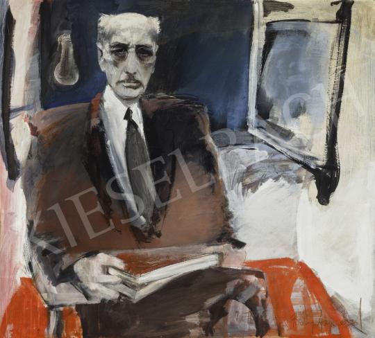 Bényi Árpád - Károlyi Mihály, 1980 körül festménye