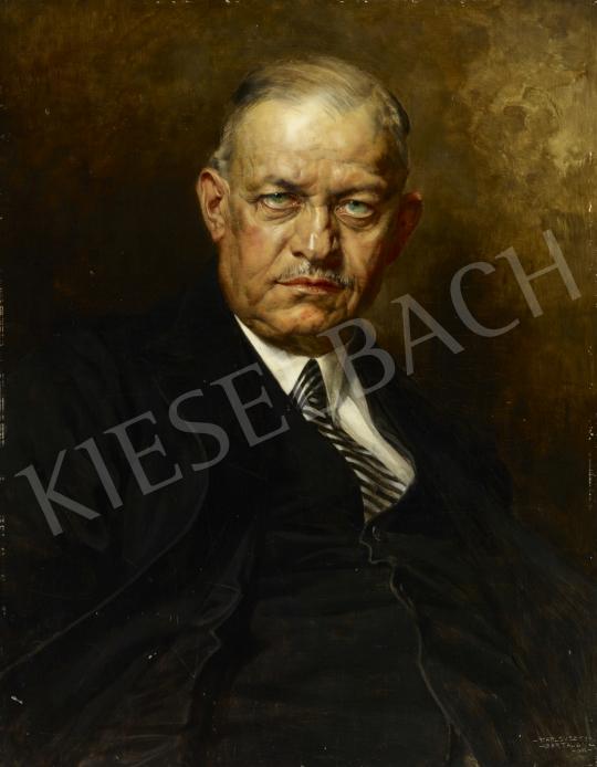 Karlovszky Bertalan - Kozma Miklós honvédelmi és belügyminiszter portréja, 1936 festménye