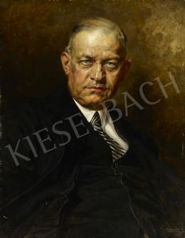 Karlovszky, Bertalan - Minister Miklós Kozmas's Portrait, 1936