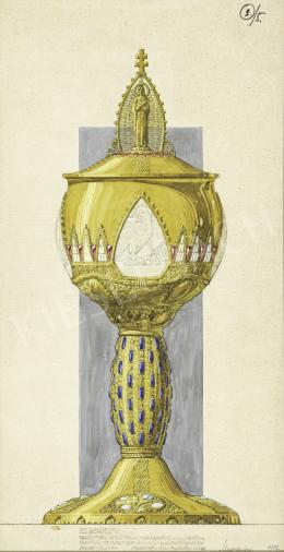 Megyer Meyer Antal - Kehely kivitelezési terve, 1912