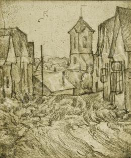 Vajda Lajos - Szentendre, 1924 körül