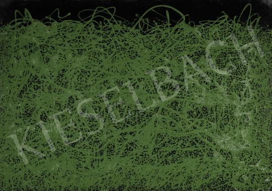 Korniss Dezső - Out Back (Hommage á Jackson Pollock), 1959 festménye