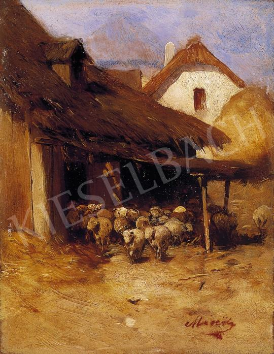 Mészöly, Géza - On the Courtyard | 5th Auction auction / 21 Item