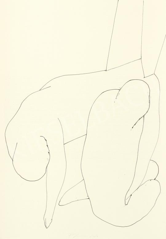Részegh Botond - Becsomagolt hétköznapok 31, 2020 festménye