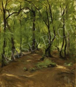 Benkhard, Ágost - Forest Path, 1939