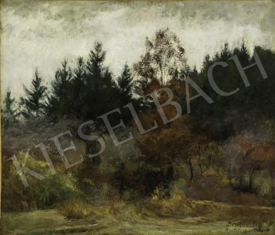 Benkhard Ágost - Őszi táj, 1923 festménye