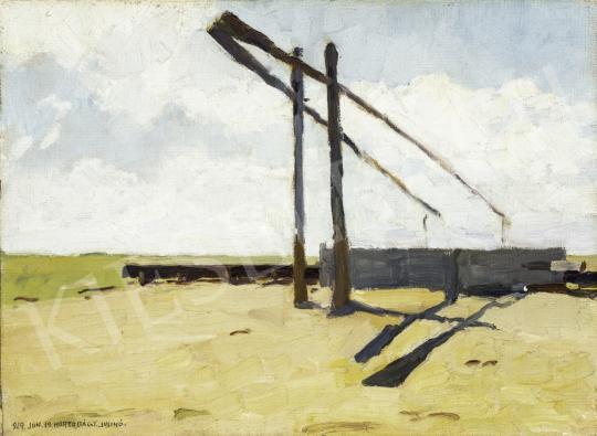 Juszkó Béla - Kopár szik, 1929 festménye