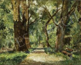 Herman Lipót - Keszthelyi park